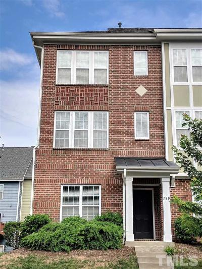 Wake County Townhouse For Sale: 229 Michigan Avenue #229