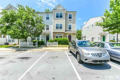 Raleigh NC Townhouse For Sale: $139,000