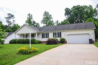 Siler City Single Family Home Contingent: 1013 Candlewood Circle
