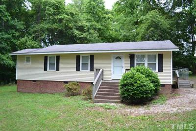 Zebulon Single Family Home Pending: 8905 Dukes Lake Road
