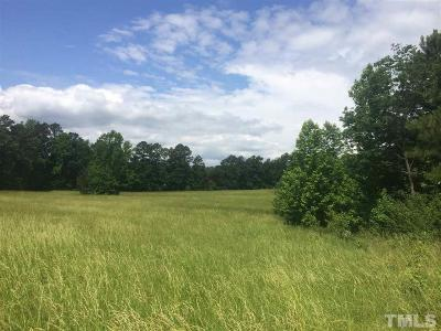 Chatham County Residential Lots & Land For Sale: 143 Revmont Drive