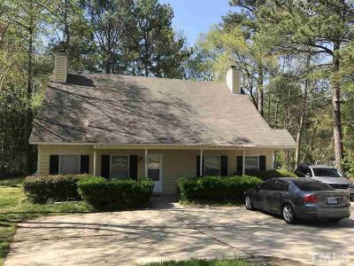Wake County, Durham County, Orange County Multi Family Home Pending: 2202 Anthony Drive