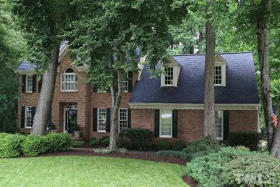 Raleigh Single Family Home Contingent: 7813 Sandy Bottom Way