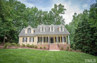 Holly Springs Single Family Home Contingent: 5012 Sunset Walk Lane