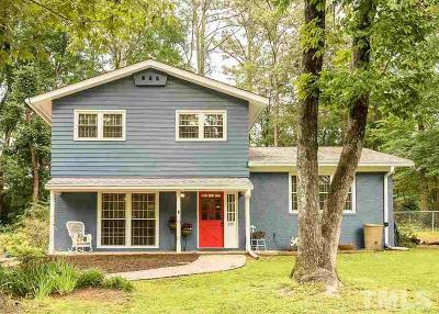 Carrboro Single Family Home Pending: 205 Gary Road