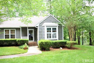 Cary Townhouse Contingent: 134 Lake Hollow Circle
