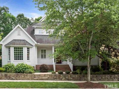 Chapel Hill Single Family Home For Sale: 309 Edgewater Circle