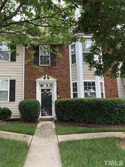 Raleigh Townhouse Contingent: 12542 Spruce Tree Way