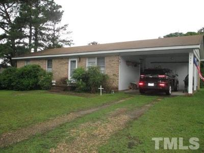 Harnett County Single Family Home Pending: 3059 Old Stage Road