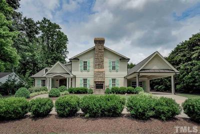 Raleigh Single Family Home Pending: 804 Glen Eden Drive