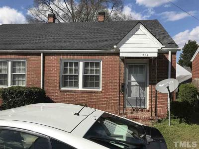 Wake County, Durham County, Orange County Multi Family Home Contingent: 1307 Holloway Street