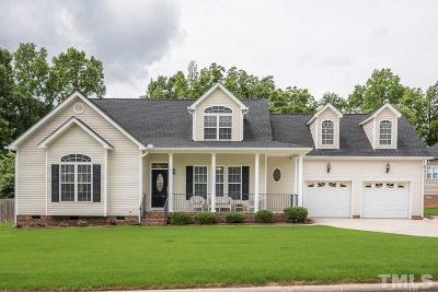 Rolesville Single Family Home Contingent: 316 Staples Drive
