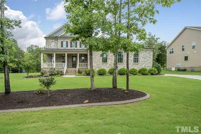 Chapel Hill Single Family Home For Sale: 1242 Covered Bridge Trail