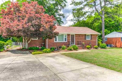 Wendell Single Family Home Contingent: 433 Old Zebulon Road