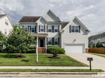 Morrisville Single Family Home Contingent: 102 Rexmore Court