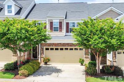 Cary Townhouse For Sale: 731 Grace Hodge Drive