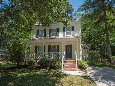 Knightdale Single Family Home Pending: 205 Indian Spring Drive