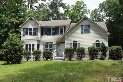 Chapel Hill Single Family Home For Sale: 305 Highland Trail