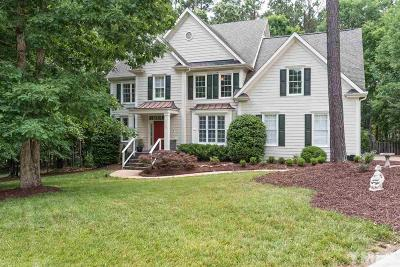 Wake Forest Single Family Home Contingent: 8009 Joshua Woods Drive