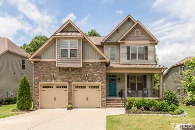 Rolesville Single Family Home Contingent: 206 Kew Gardens Way