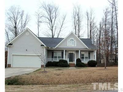 Johnston County Rental For Rent: 209 Sarazen Drive