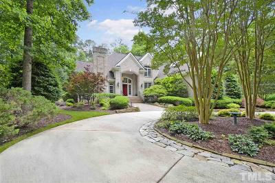 Fuquay Varina Single Family Home Contingent: 4905 Ivercroft Place