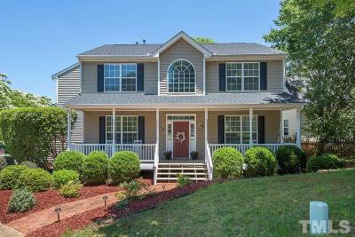 Holly Springs Single Family Home Contingent: 101 Creek Haven Drive