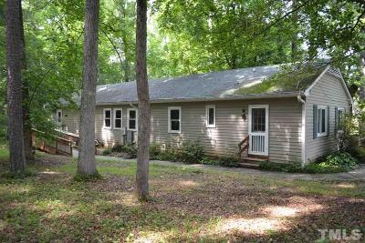 Pittsboro Rental For Rent: 1971 River Road