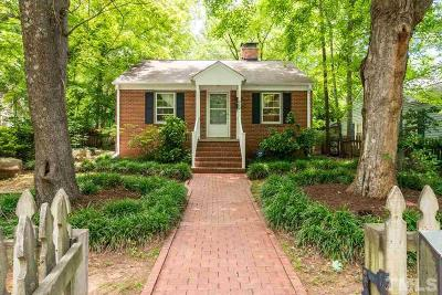 Chapel Hill Single Family Home Contingent: 502 Pritchard Avenue