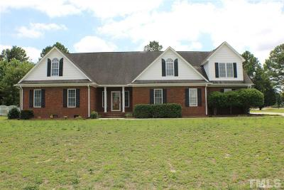 Dunn Single Family Home For Sale: 184 Stonehenge Drive