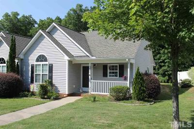 Clayton Townhouse Contingent: 3626 E Cotton Gin Drive
