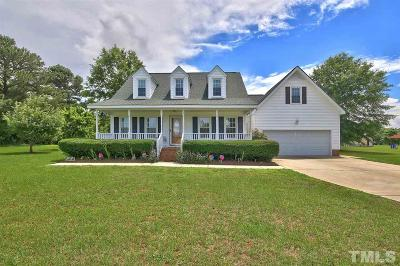 Angier Single Family Home For Sale: 483 Ennis Road