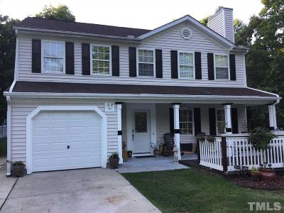 Wendell Single Family Home Contingent: 1445 Huntdell Main Drive