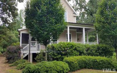 Angier Single Family Home Pending: 251 Creature Meadow Lane