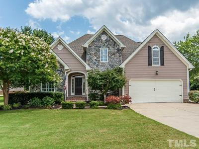 Garner Single Family Home For Sale: 5501 Trekwood Drive