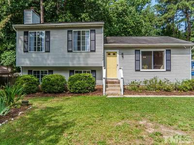 Raleigh NC Single Family Home For Sale: $180,000