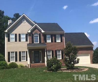 Cary NC Single Family Home Contingent: $489,900