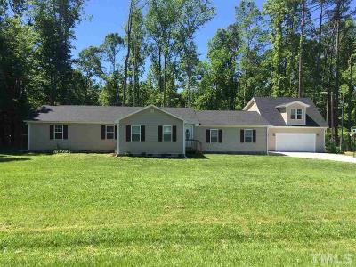 Wendell Single Family Home For Sale: 6412 Robertson Pond Road
