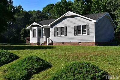 Clayton Single Family Home Contingent: 103 N Nikol Way