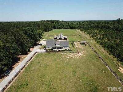 Johnston County Single Family Home Contingent: 297 Denvale Drive