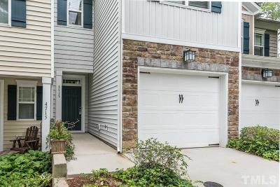 Raleigh Townhouse Contingent: 4717 Lawhorn Street