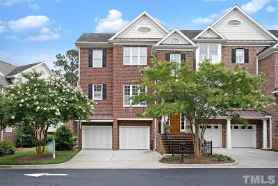 Cary Townhouse For Sale: 206 Lions Gate Drive