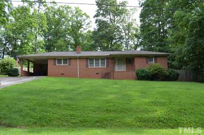 Siler City Single Family Home For Sale: 718 Lakewood Drive