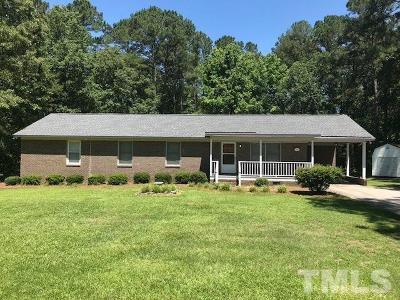 Lillington NC Single Family Home For Sale: $196,000