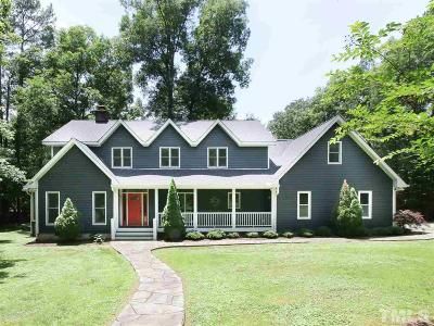 Chapel Hill Single Family Home For Sale: 3010 Gait Way