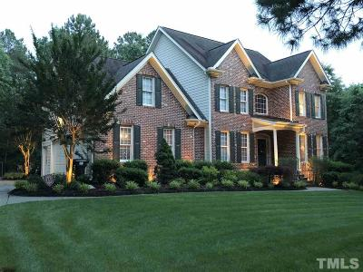Wake Forest Single Family Home Contingent: 1405 Bridle Glen Court