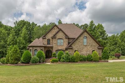 Fuquay Varina Single Family Home Pending: 518 Goal Kick Drive