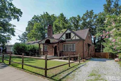 Durham Single Family Home For Sale: 106 E Club Boulevard
