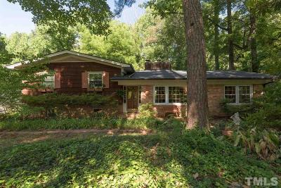 Durham Single Family Home For Sale: 3510 Manford Drive