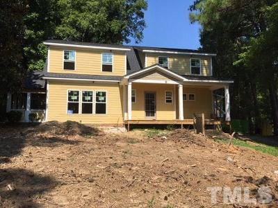 Chapel Hill Single Family Home For Sale: 1111 E Franklin Street